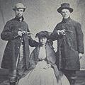 Two men & escaped slave